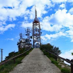 Les antennes du sommet.