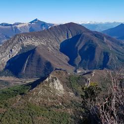 Le sommet d'Arambre.