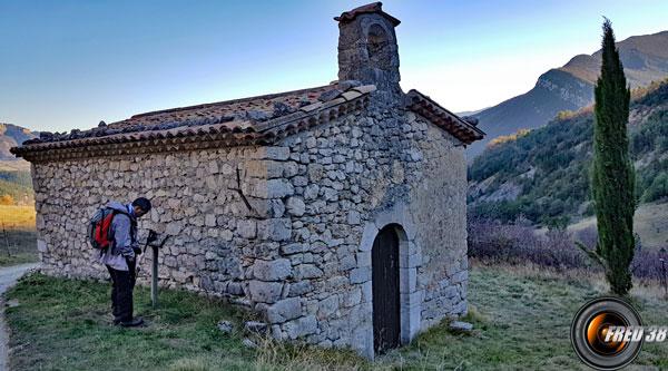 Chapelle de Saumane.