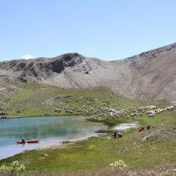 Lac supérieur de l'Aupillon.