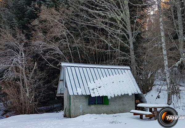 Cabane de pras Stérieux.