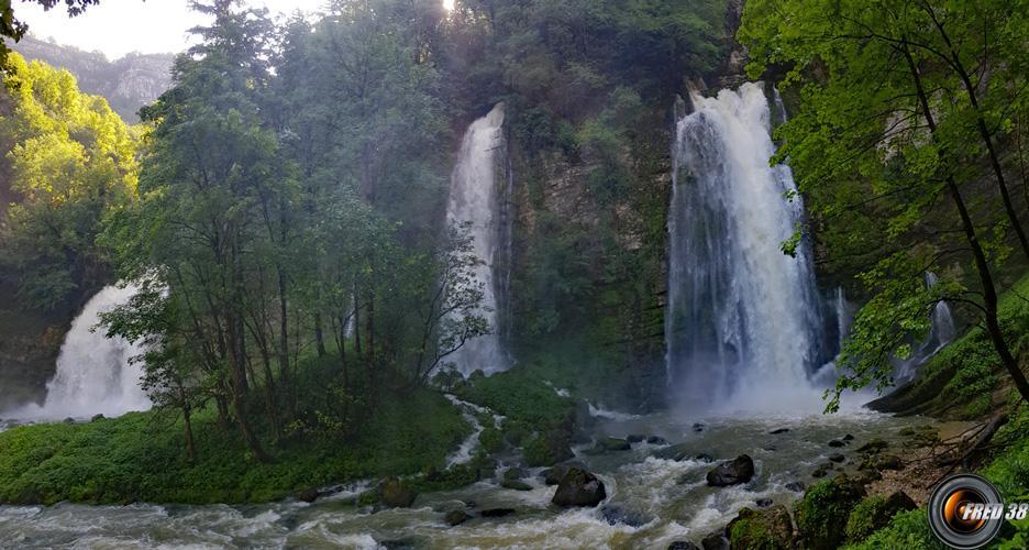 Cascades du Flumen.