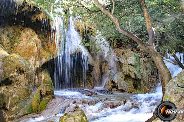 la cascade principale.