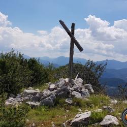 Le sommet à 1543 m.