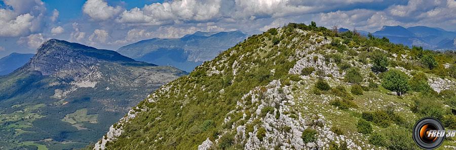 Le sommet à 1547 m