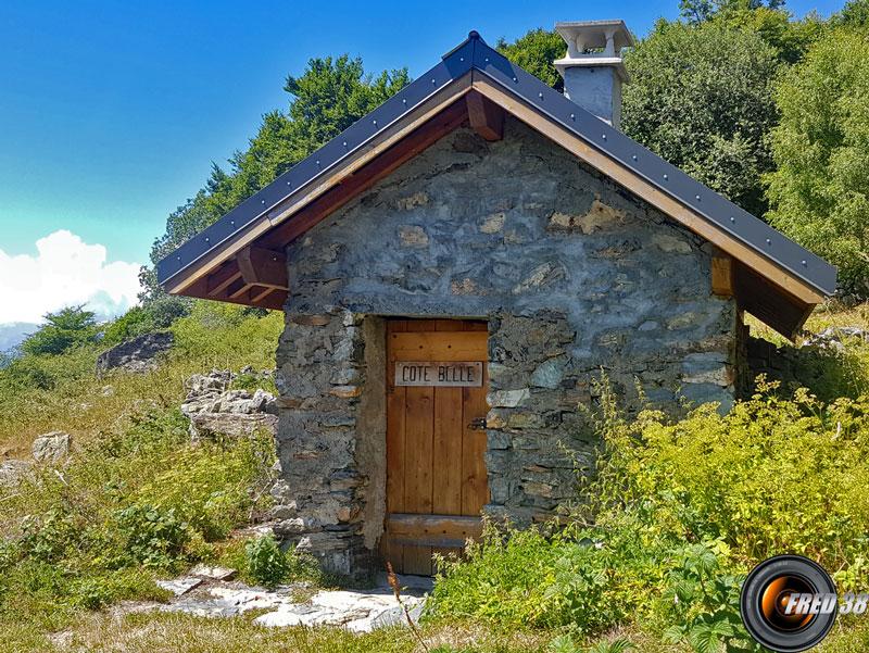 Cabane de Côte Belle.