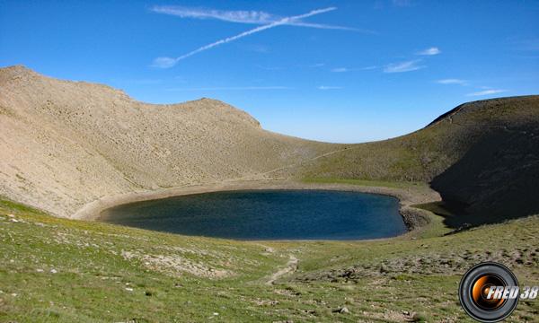 Lac des Garrets.