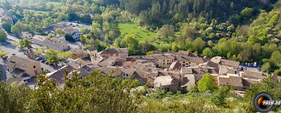 Le village d'Orpierre.