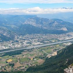 Vue direction Grenoble.