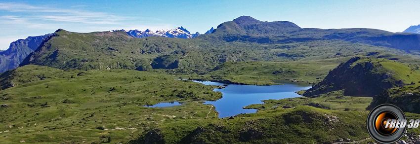 Beauregard, le lac Fourchu et le Grand Galbert.