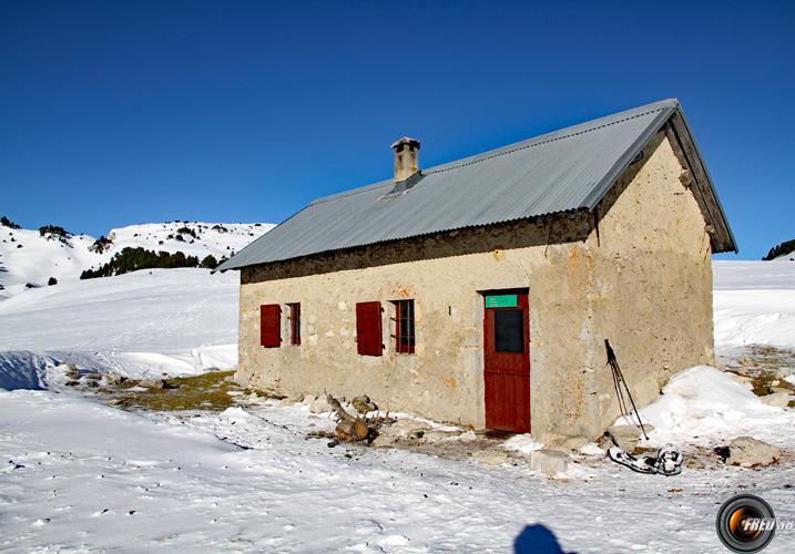Cabane de l'Essaure.