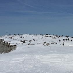 Le sommet vu du chalet C. Dunant.