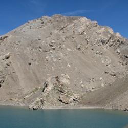 Le sommet vu côté italien.