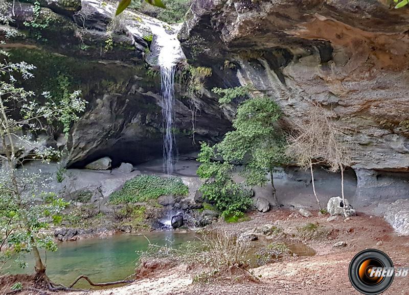 La cascade de Baumicou.