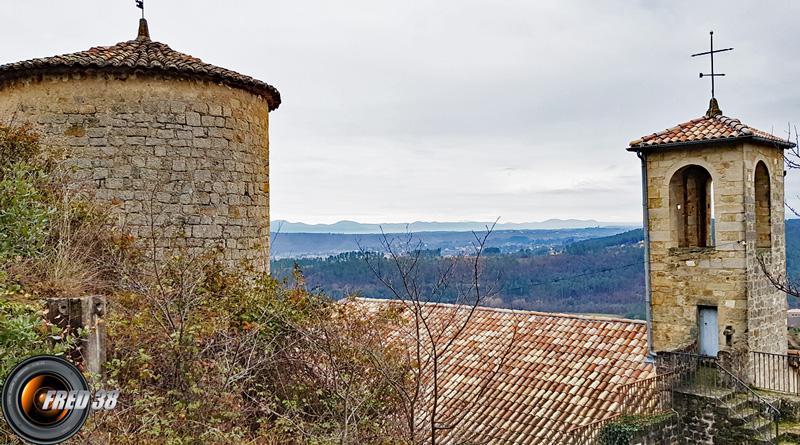 vue de l'église.