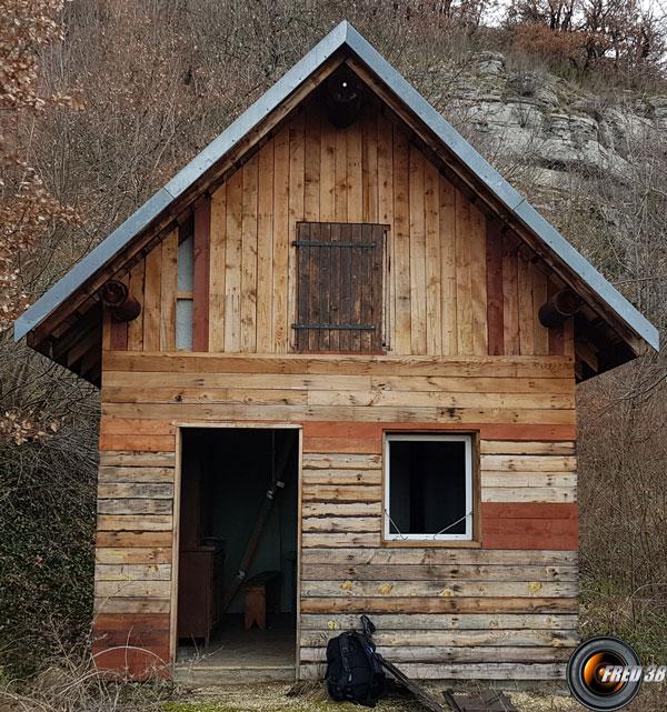 La cabane de Chemilieu.