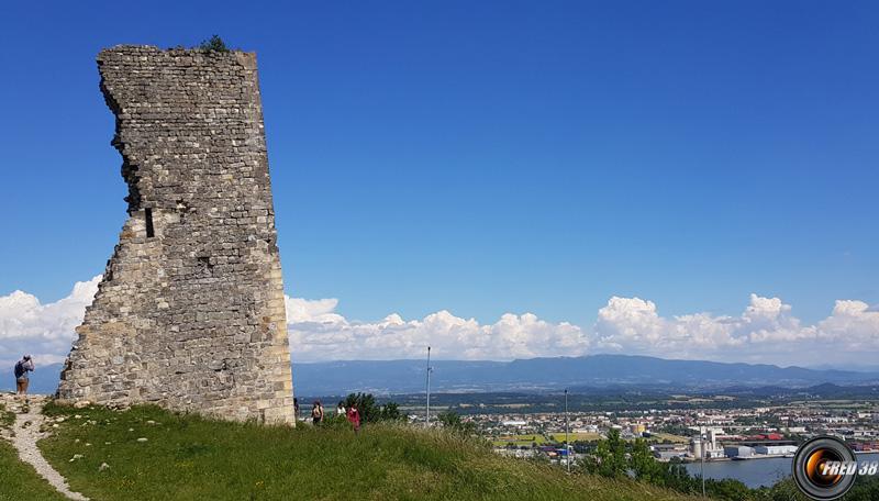 La tour penchée.