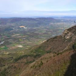 Vue sur la vallée de l'Isère.