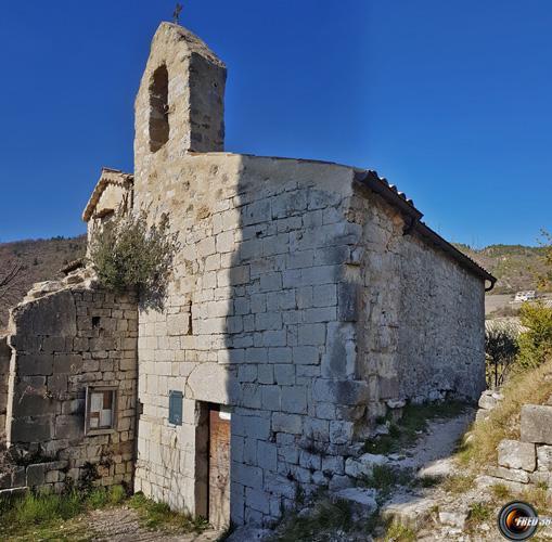Ruines de l'Abbaye de Bodon.